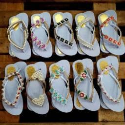 Chinelos/sandália personalizadas