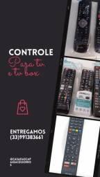 Título do anúncio: Controles de tv e tv box..