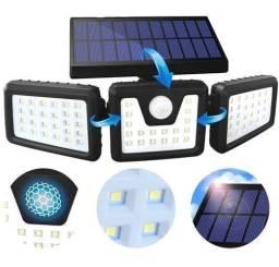 Título do anúncio: Luminária De Led Solar 30w 74 Leds Externa Sensor Presença