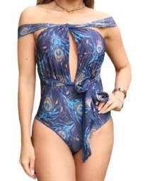 Título do anúncio: Maio Body flex dupla face azul