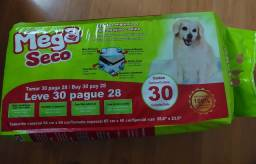 Título do anúncio: Tapete higiênico com atrativo canino - Mega Seco 30un