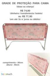 Título do anúncio: Grade de cama infantil unicórnio e balões Parcelo e Entrego.