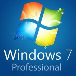 Título do anúncio: Windows 7 Pro Licença Chave Serial Original
