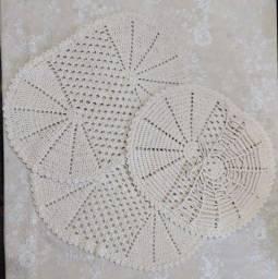Conjunto 3 peças crochê