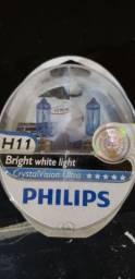 Lâmpada Cristal Vision H11 55w Philips