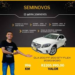Título do anúncio: Mercedes GLA 200 FF Flex R$208.990,00 Imperdível !! Ubiratã