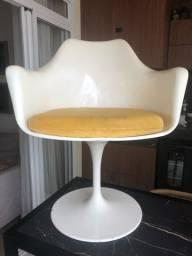Título do anúncio: Cadeira base giratória assento estofado