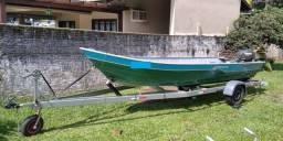 Título do anúncio: vendo barco/lancha
