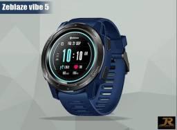 ?LANÇAMENTO?Relógio SmartWatch Zeblaze Vibe 5? Azul