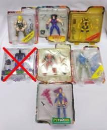 Lote 6 Bonecos X-men Toy Biz 1995 Marvel Comics Vintage