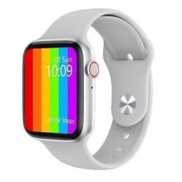 """Relógio Smartwatch W26 Tela Infinita HD 1.75"""" Branco"""