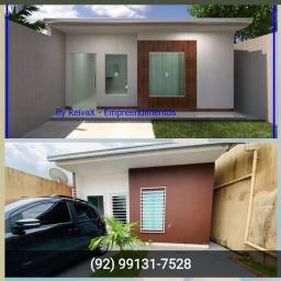 Título do anúncio:  Com 2 dormitórios px chapéu Goiano Casa no novo Aleixo