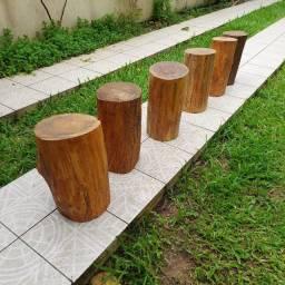 Título do anúncio: Banco de madeira
