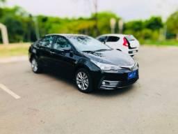 Título do anúncio: Corolla xei /2019 preto (pego carro de menor valor como entrada)
