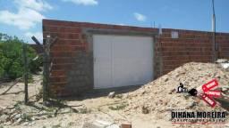 casa com estrutura para forro pronta à venda 12x35 Carlotas, Paracuru-ce