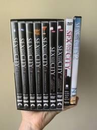 Box Dvd Coleção Sex In The City Completa + Filmes 1 E 2