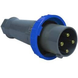 Plugue  industrial steck  3P+T  125A  250V   S4679