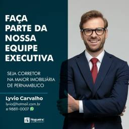 Título do anúncio: Vaga para Consultor de Vendas na Maior Imobiliária de Pernambuco