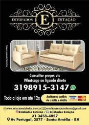 Sofá retrátil e reclinável loja da fábrica