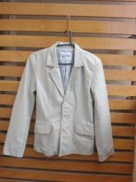 jaqueta de couro Zoomp