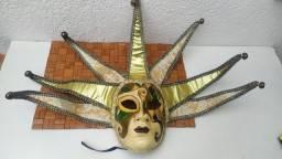 Máscara veneziana luxo ótimo estado