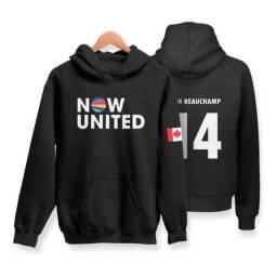 Título do anúncio: Moletom Now United Josh Beauchamp 14 Canadá