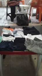Lote de roupas 17 peças 55.00