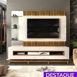 """Home Theater Solare TV até 60"""" Ripado Led - Catálogo completo via whats"""