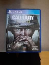 Jogo Call of Duty WW2 mídia física para ps4