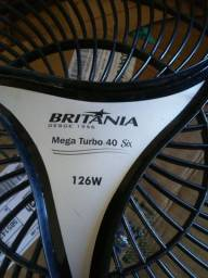 Grade frontal ventilador britania turbo 40 six