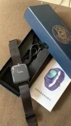 Relogio smartwatch na caixa