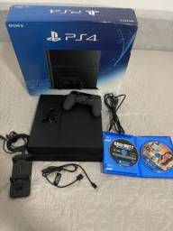 Título do anúncio: Playstation 4 Slim completo - 500gb - semi novo