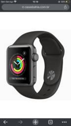 Vendo Apple Watch série 3 42mm semi novo