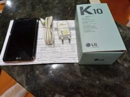 Título do anúncio: LG K 10.  400,00