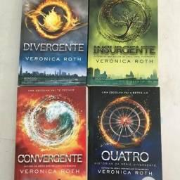 Livros Saga Divergente