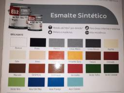 Preço relâmpago! Esmalte sintético 3,6 secagem rápida na Cuiabá tintas.. imperdível