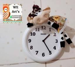 Título do anúncio: Relógio de vaquinha !