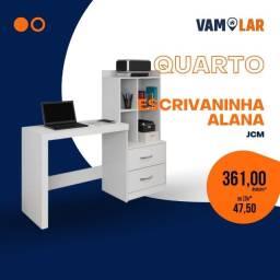 Título do anúncio: Escrivaninha alana Jcm , Branco / Entregamos de 1 á 3 dias