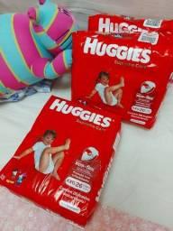 Huggies Supreme Care R$ 0,50 a unidade.