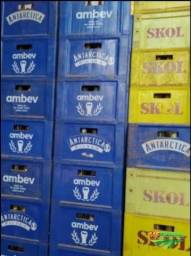 Título do anúncio: Caixas cerveja com os vasilhames 600 e Litrão