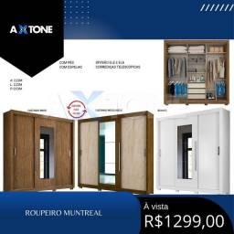 Título do anúncio: Roupeiro Muntreal