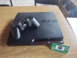 Título do anúncio: Playstation 3 160gb desbl. + controle +10 jogos brinde  ( Já na memória ).