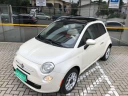 Título do anúncio: Fiat 500 Cult 1.4 Automático,Teto solar 2012