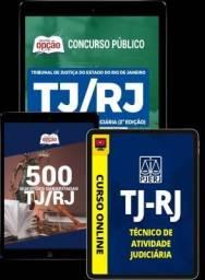 Título do anúncio: Apostilas e Curso Preparatório Concurso TJ Rio de Janeiro