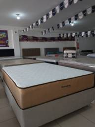 Título do anúncio:  Stress free visco casal + cama box por 1549,99 apenas!