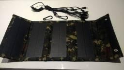 painel solar dobrável / carregador solar 50w 5v ( leia o anúncio)