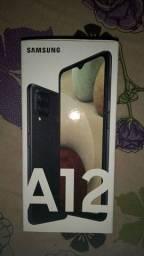 Samsung a12 zero nem uma arranhados