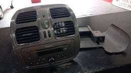 Título do anúncio: Radio original connect com moldura do Fiat Grand Siena