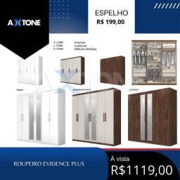 Título do anúncio: Roupeiro Evidence Plus