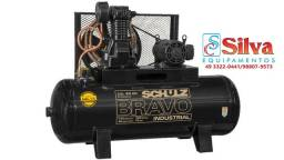 Título do anúncio: Compressor de ar 40 pés 250 Litros 175 Libras 12Bar 10CV 380/660V Schulz